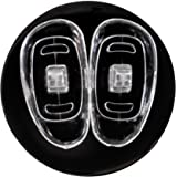 D-shaped Screw-in Silicone Eyeglass Nose Pads - 15mm (5 Pair)