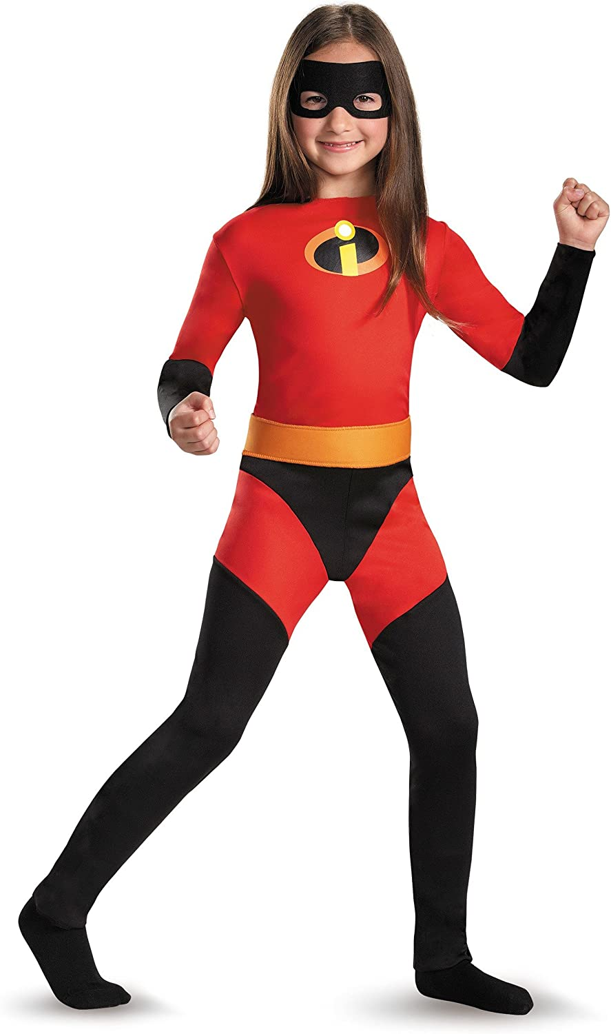 Amazon Com Disguise Kids Violet Incredibles Costume Medium Sizes 7 8 Toys Games