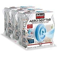 Rubson AERO 360º Tabletas de Recambios para Deshumidificador Recargable, Olor Neutro, 3 tabletas de 450 g