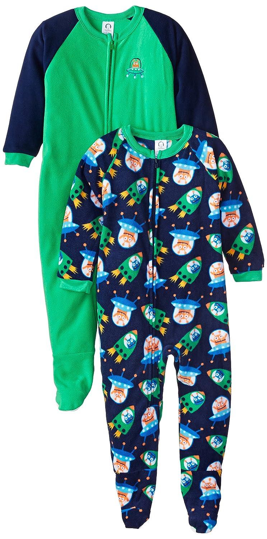 Gerber Baby and Little Boys' 2 Pack Blanket Sleepers Gerber Boys 2-7