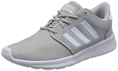 adidas Cloudfoam Qt Racer, Zapatillas de Running para Mujer, Gris Greone/Ftwwht/Gretwo, 38 2/3 EU: Amazon.es: Zapatos y complementos