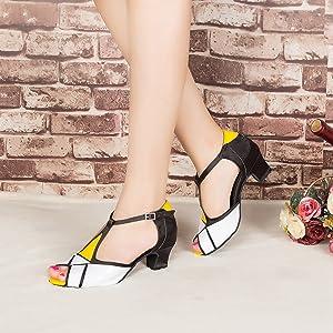 LightPink, Kids EU27//UK9=6.69 Bezioner Canvas Ballet Slipper Dance Shoes for All Ages