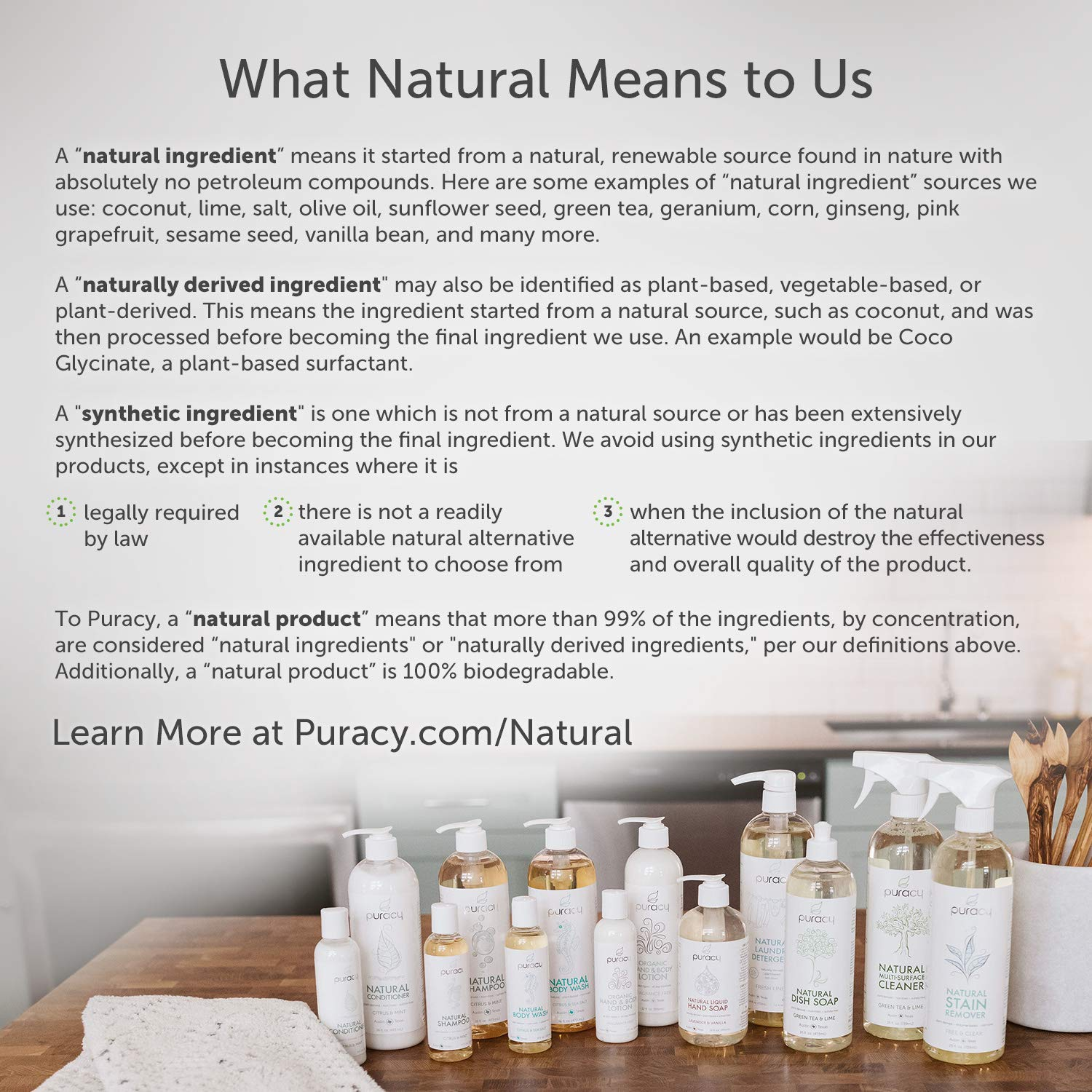 Puracy Natural Body Wash Refill, Sulfate-Free Shower Gel Daily Cleanser, Citrus & Sea Salt, 64 Ounce by Puracy (Image #9)