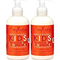 Shea Moisture Kids Conditioner 8 Ounce Mango/Carrot Extra Nourishing (236ml) (2 Pack)