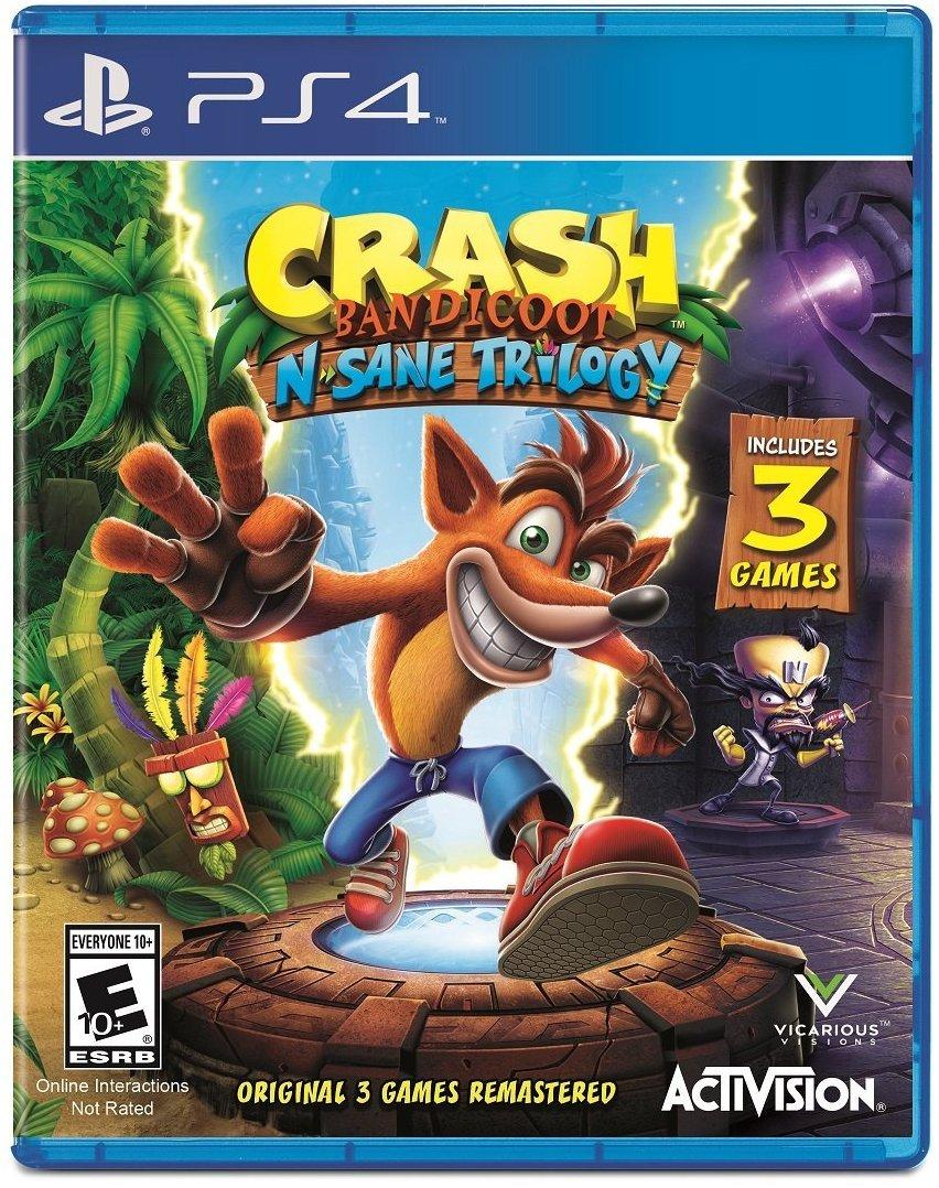Crash Bandicoot N. Sane Trilogy – PlayStation 4