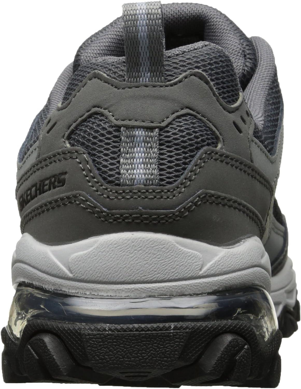 Skechers M. Fit Air Oxford Chaussures de sport pour homme Gray Black