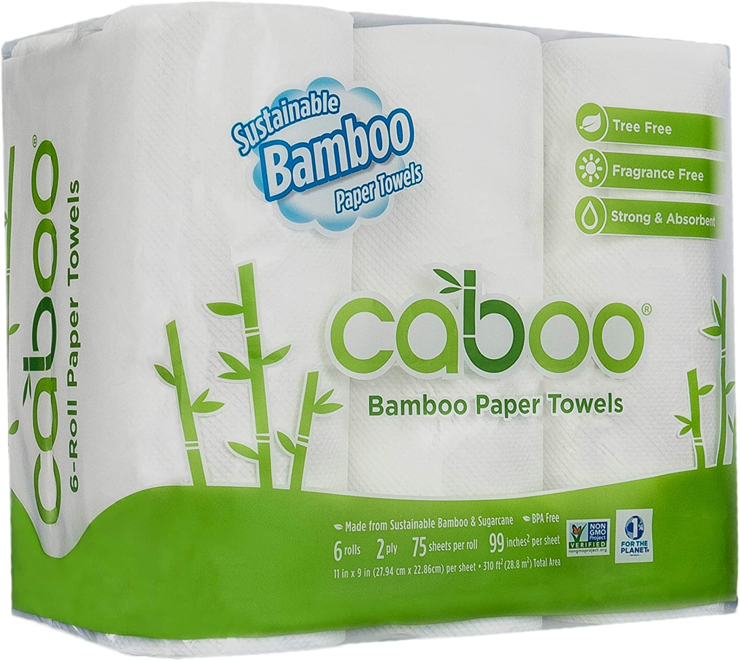 Caboo Bamboo Paper Towels