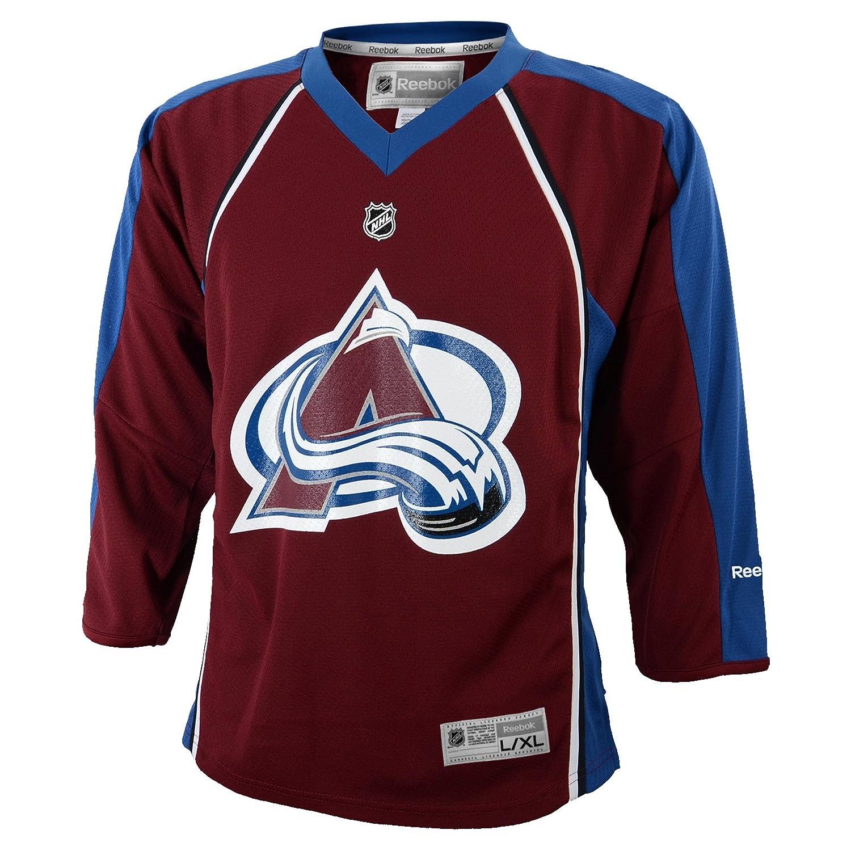 Amazon.com   NHL Boys Colorado Avalanche Team Color Replica Jersey -  R56Hwbqq (Maroon 15640800d
