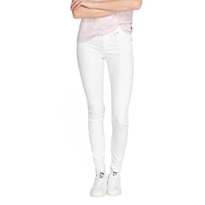 27/32 jeans levis 721 high rise skinny blanc