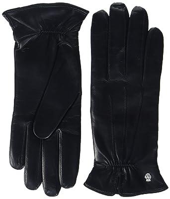 46fa2543cd4fd6 Roeckl Damen Klassiker - Gerafft Handschuhe, Schwarz (Black 000), 6