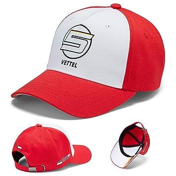 Ferrari 2018 Sebastian Vettel #5 - Gorra de béisbol para Adulto ...