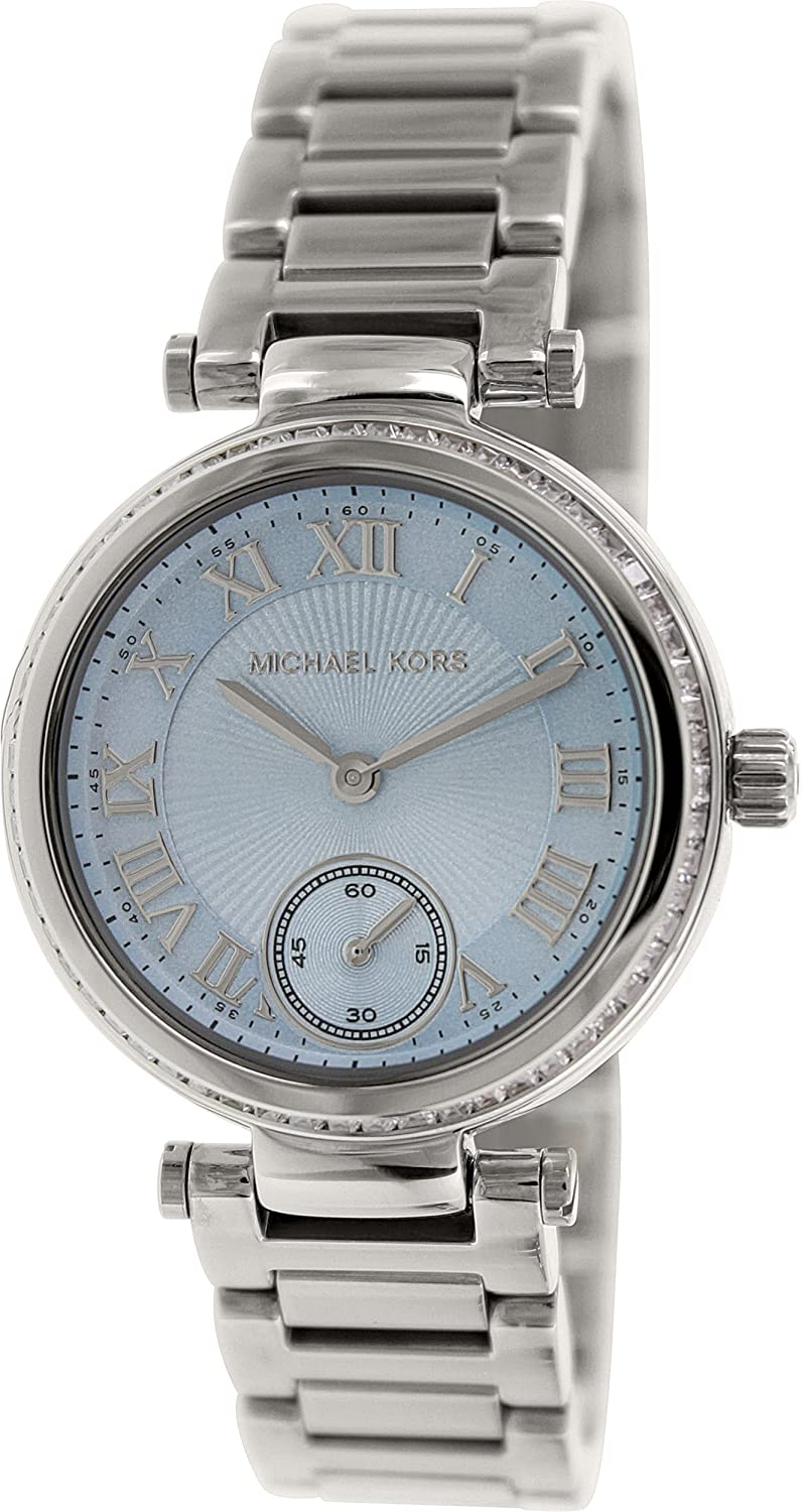 daff31a5a9f Amazon.com  Michael Kors Watches Skylar Watch (Silver)  Michael Kors   Watches