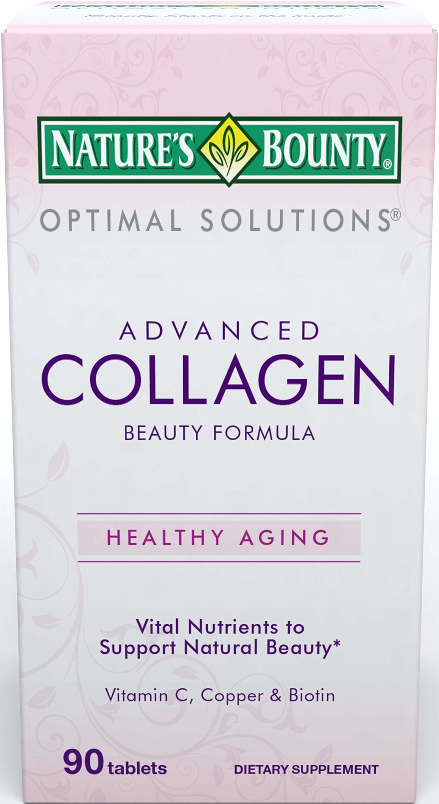 Nature S Bounty Optimal Solutions Collagen  Tablets
