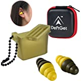 Ear Plugs High Fidelity livemusic Earplugs/2-in-1 Noise Cancell earbuds Shooting Protectors/Protection For Shooters/Construction/Sleeping/Concerts by deftget