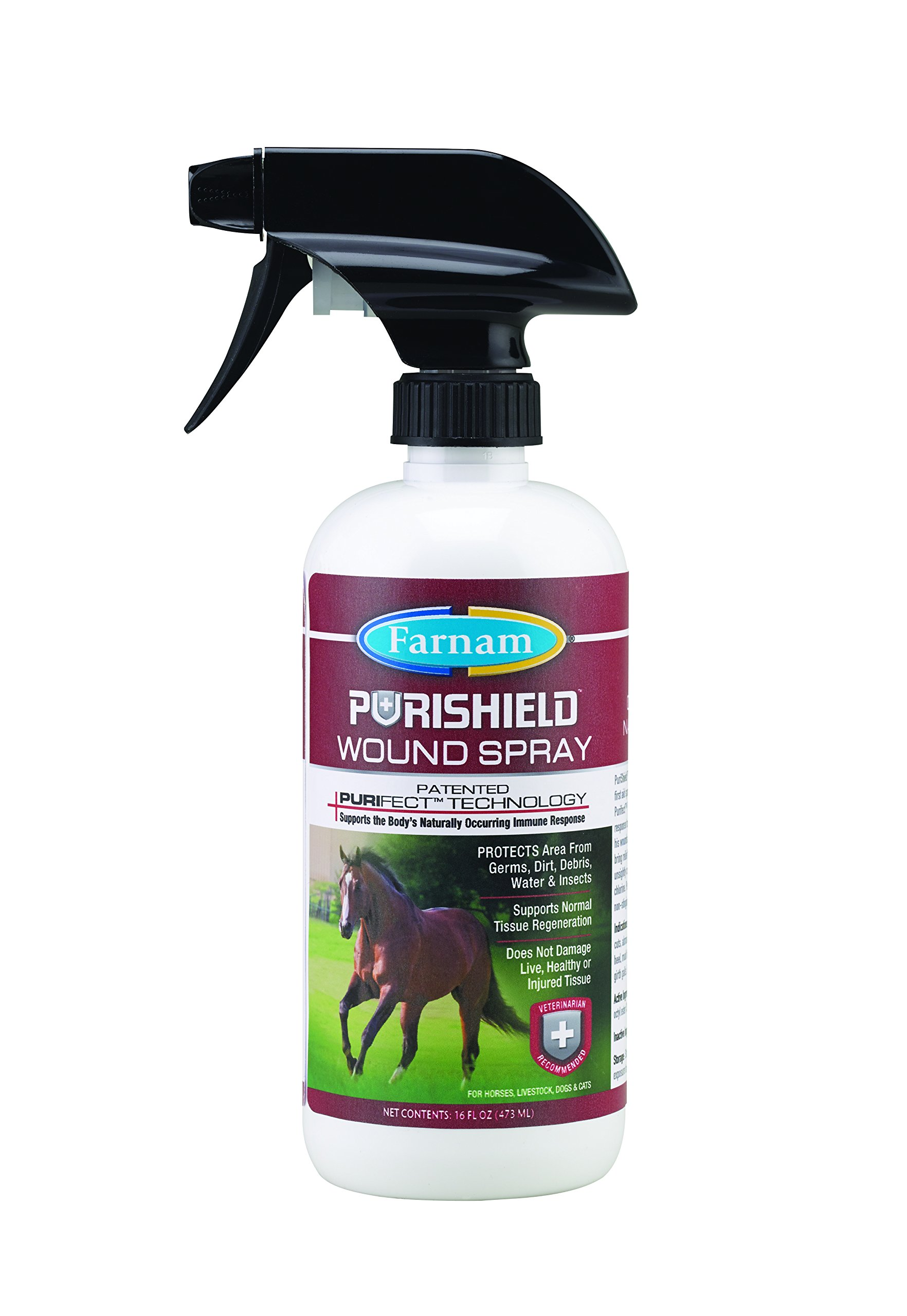 Farnam Purishield Wound Spray, 16 fl oz
