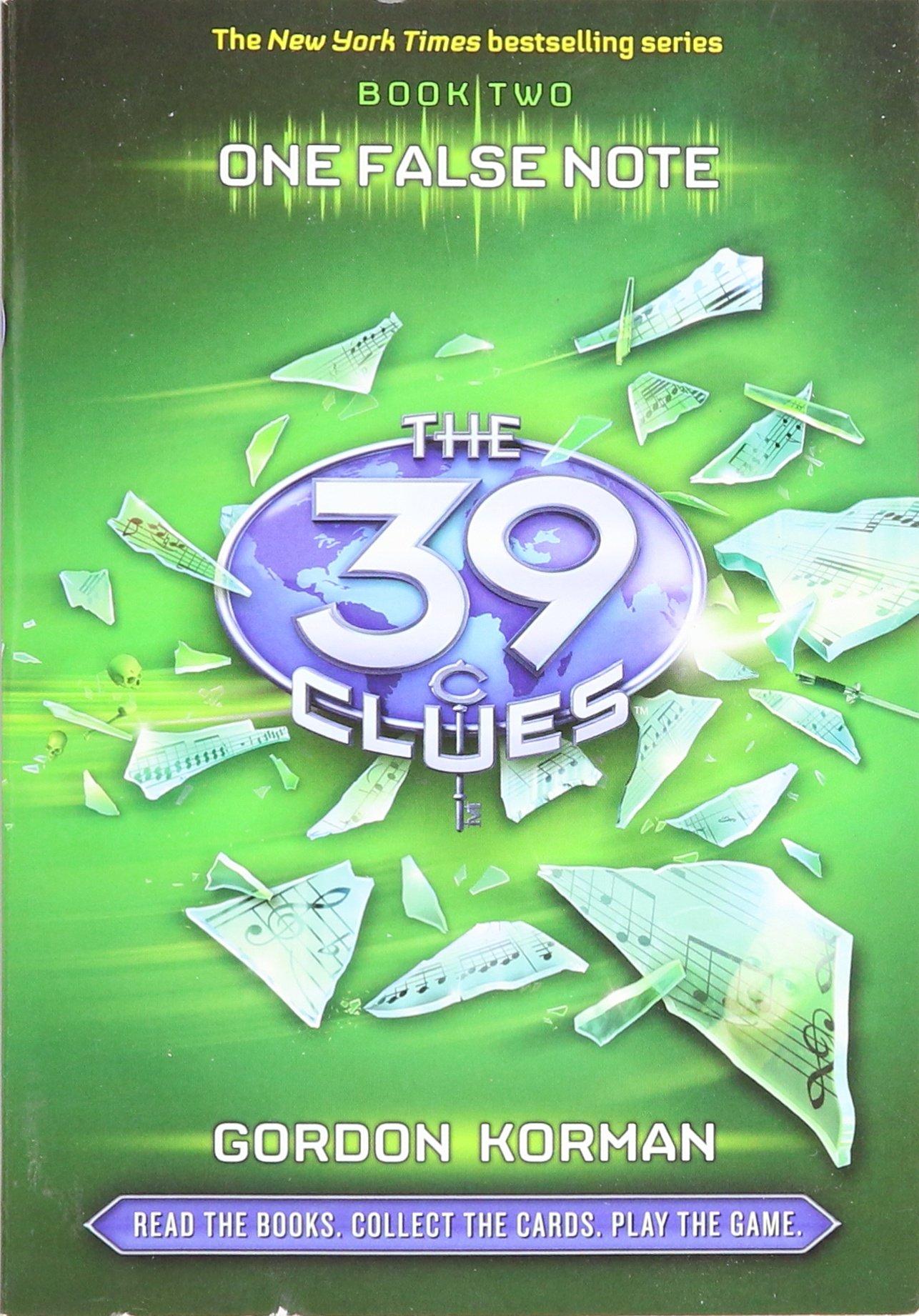 The 39 Clues (one False Note): Gordon Korman: 9780545341318: Amazon:  Books