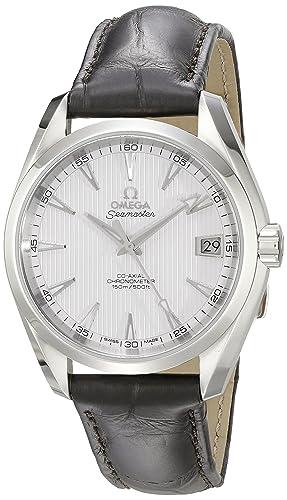 Omega de hombre 231.13.39.21.02.001 Aqua Terra Plata Dial reloj: Omega: Amazon.es: Relojes