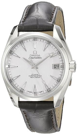 Omega de hombre 231.13.39.21.02.001 Aqua Terra Plata Dial reloj