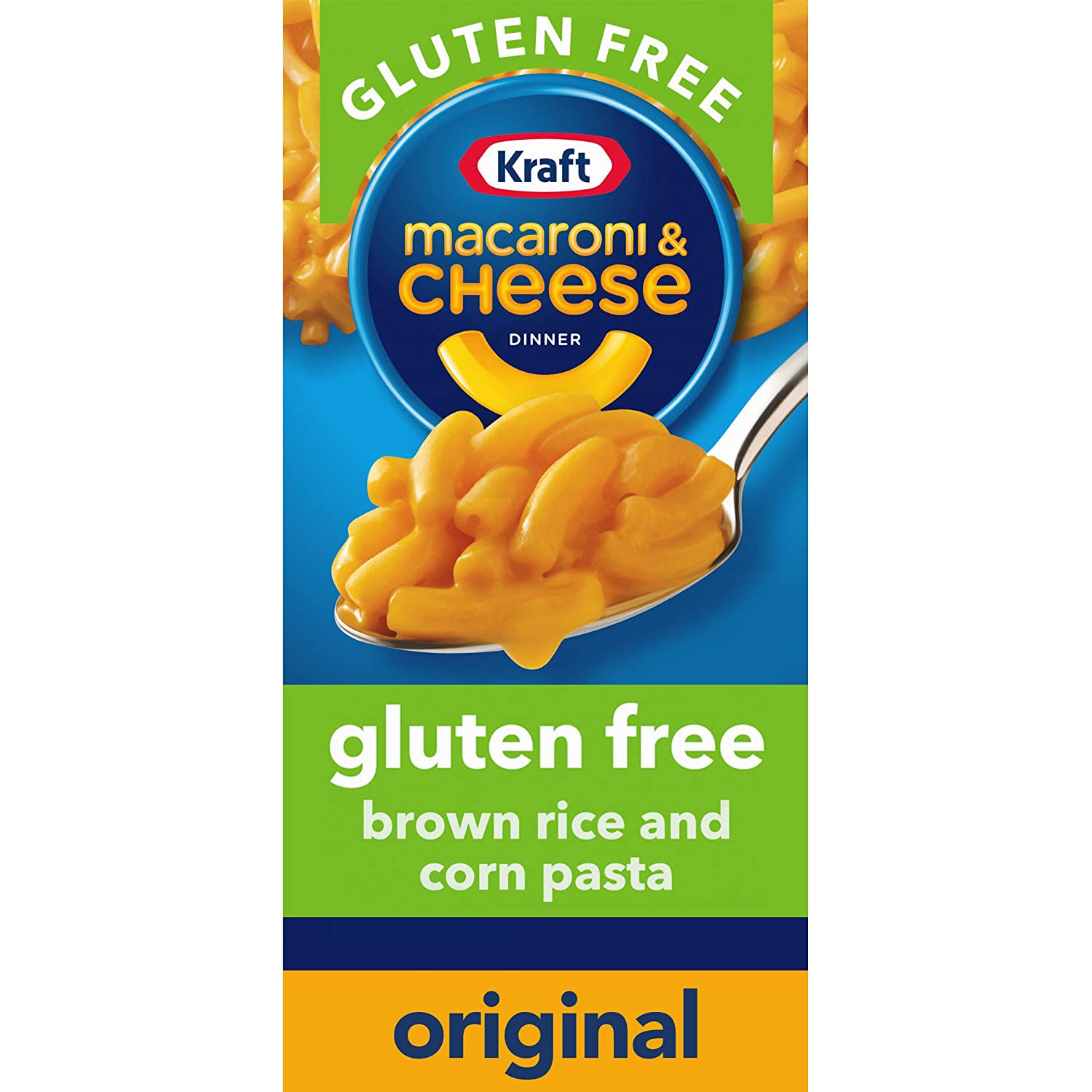 Kraft, Gluten Free Original Flavor Macaroni and Cheese Meal oz Boxes Pack of 12, 6 Ounce