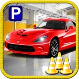 Sports Car High School Driving Test - Parking Game