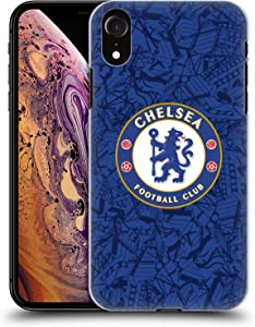 Head Case Designs Officially Licensed Chelsea Football Club Home 2019/20 Kit Hard Back Case Compatible with Apple iPhone XR
