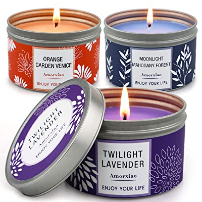 Woody Mothers Day Gift Lavender and Lemongrass Soy Wax Candle Best Mom Ever 10 oz Scented Candle Lavender Citrus