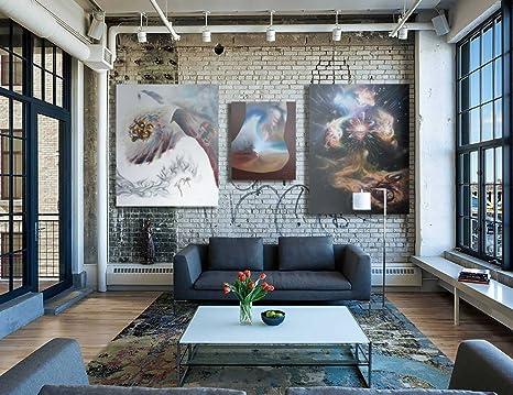 Pareti In Tela : Tela bianca sulla parete nel salone d rendono illustrazione di