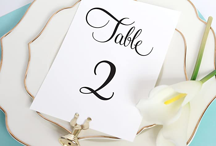 Table Numbers Wedding.Table Number Signs Table Numbers For Wedding Table Card Numbers Table Numbers Wedding Table Numbers For Wedding Bridal Shower Table Numbers 5 20
