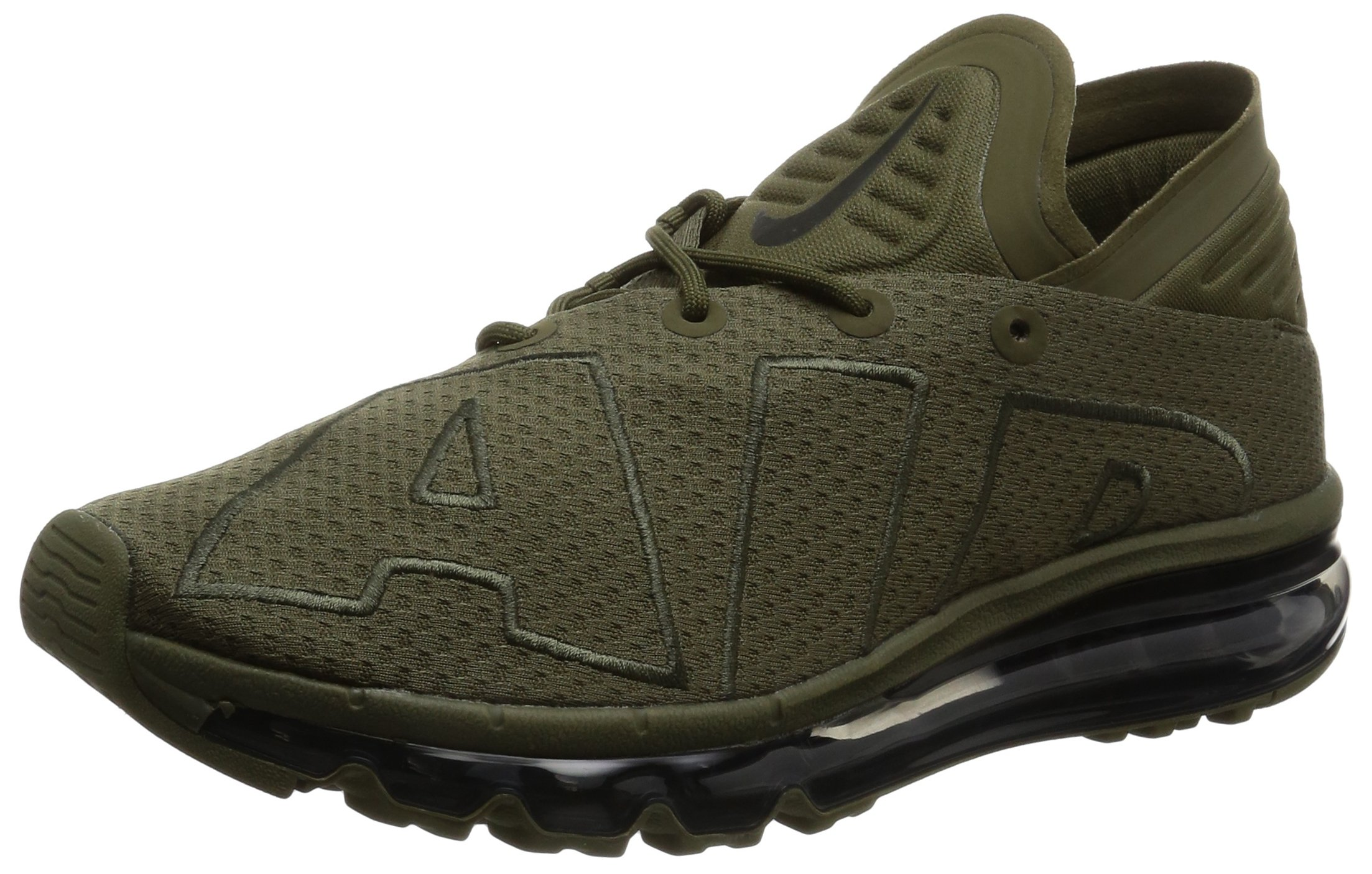 34706169f5 Galleon - Nike Mens Air Max Flair Low Top Lace Up Running, Medium Olive/ Sequoia, Size 10.0