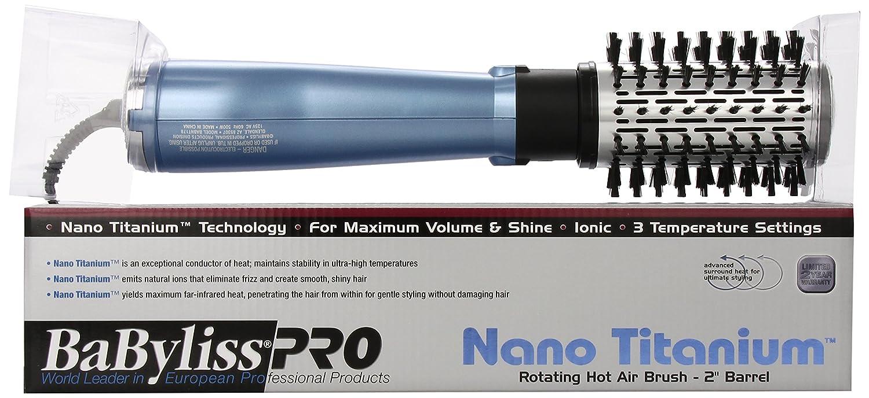 Amazon.com: BaBylissPRO Nano Cepillo giratorio de titanio ...