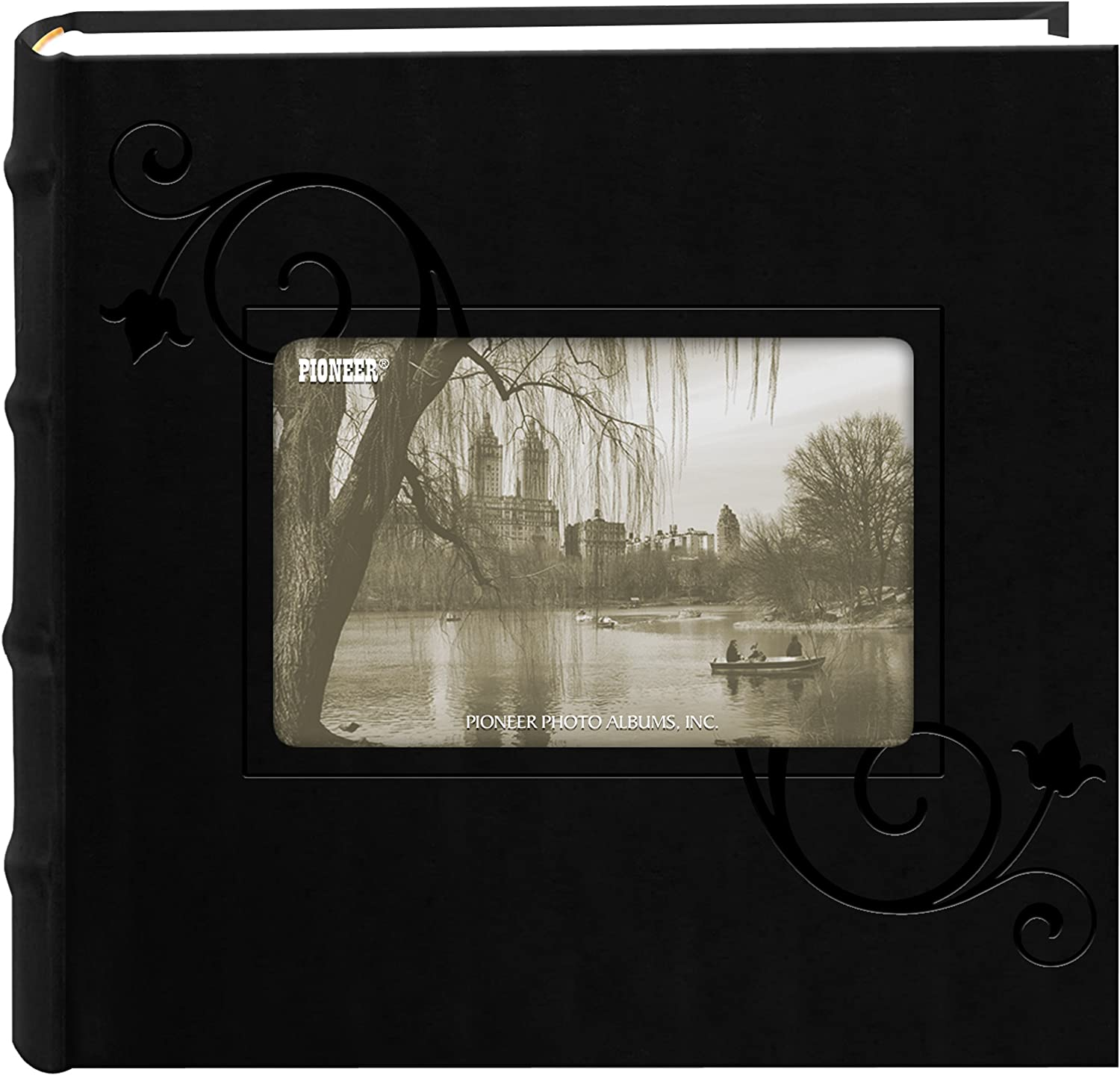 Pioneer Embossed Floral Frame Leatherette wholesale Ranking TOP4 Bla Album Photo Cover