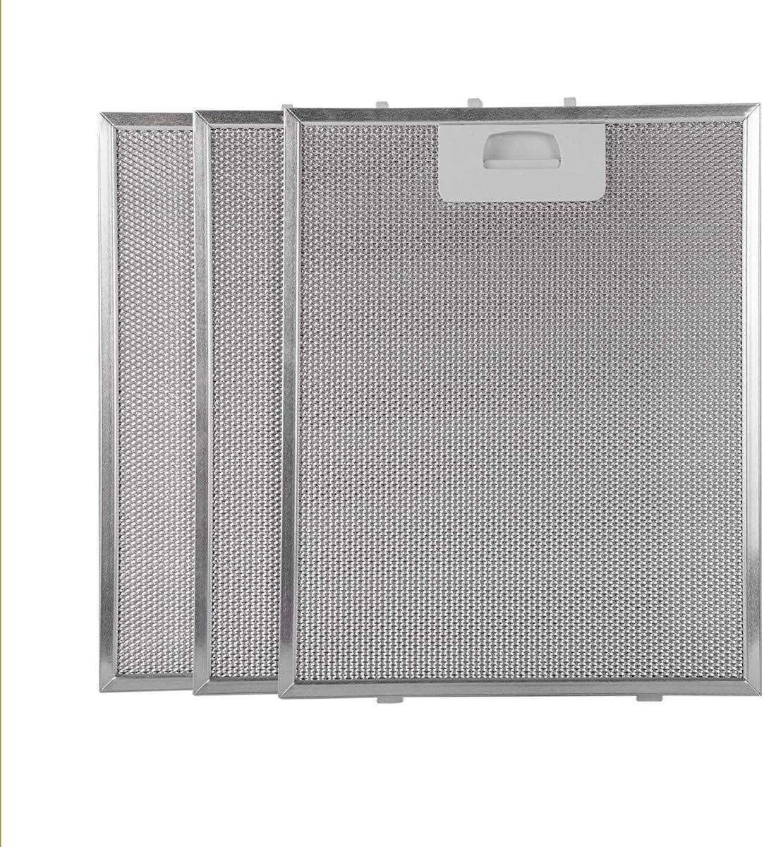 Recamania Filtro Campana extractora 320x260-3 Unidades: Amazon.es: Hogar