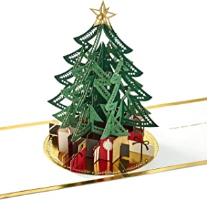 Hallmark Signature Paper Wonder Pop Up Christmas Card (Christmas Tree)