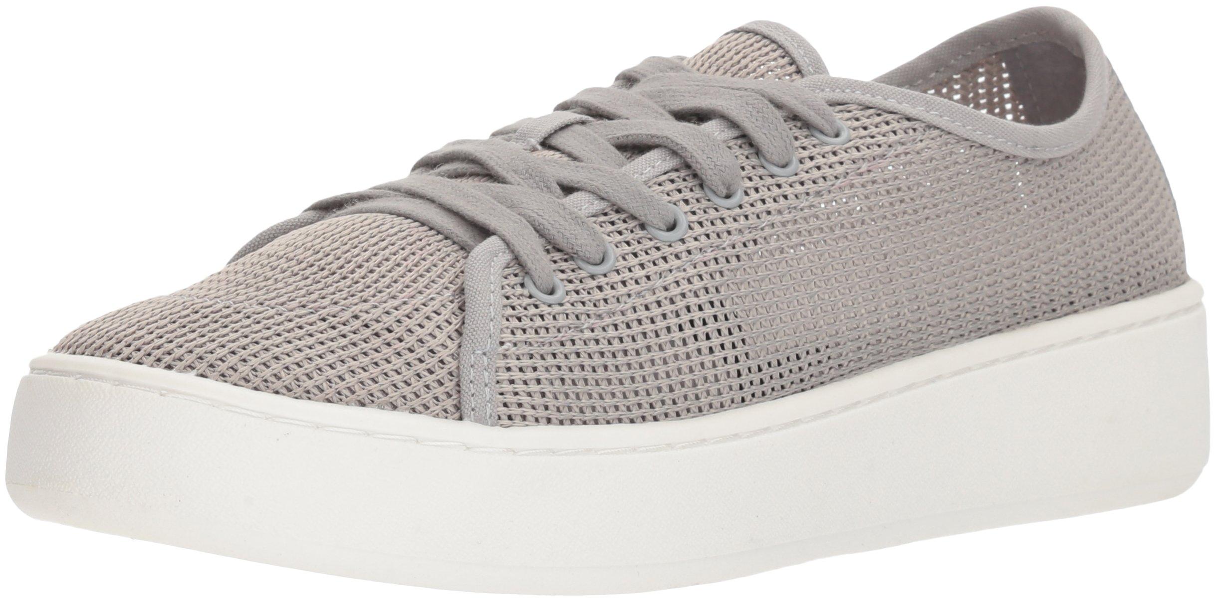Donald J Pliner Women's Cecile Sneaker, Silver, 7.5 Medium US