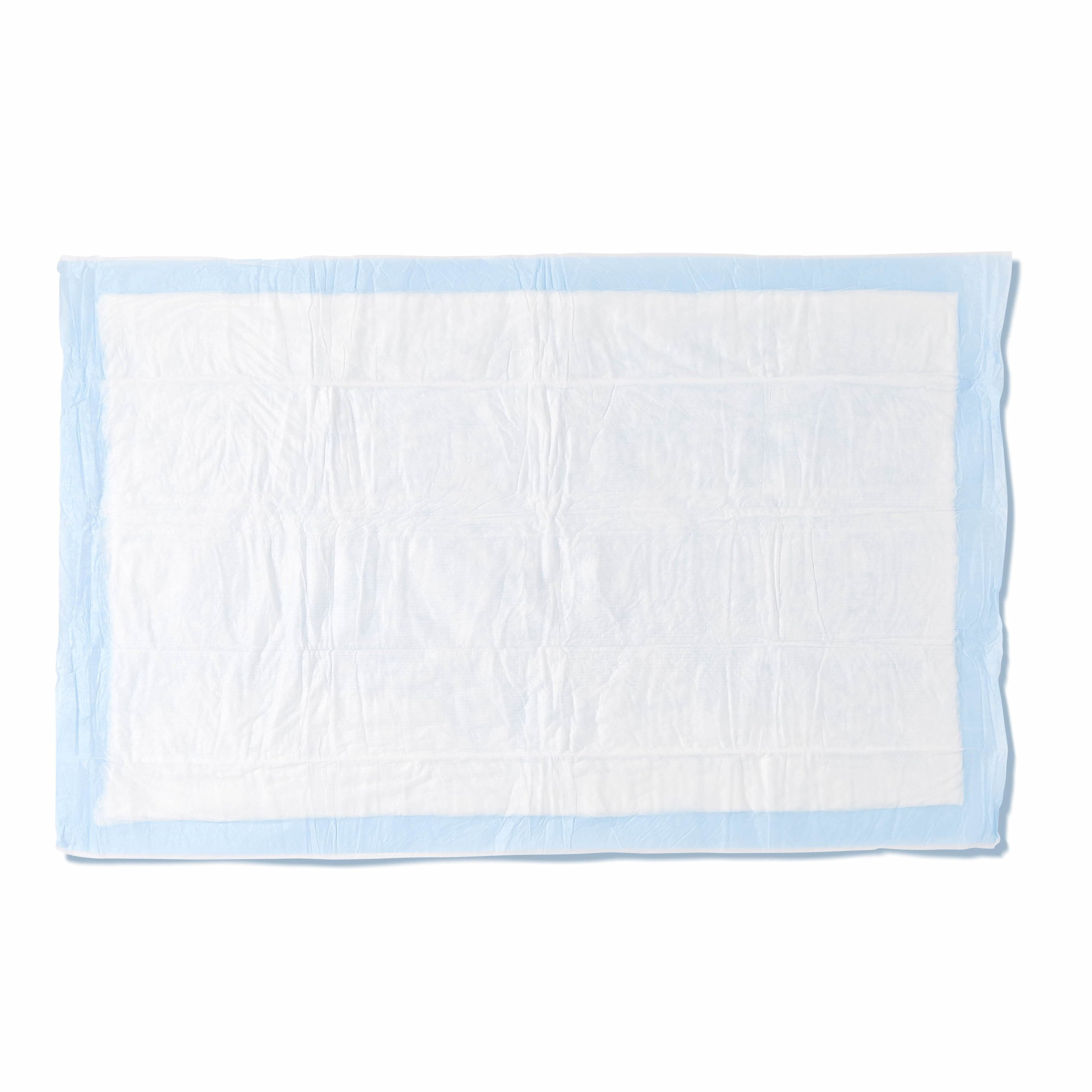 Medline Heavy Absorbency 23'' x 36'' Fluff and Polymer Disposable Underpads, 100 Per Case, Great for Protecting Beds, Furniture, Surfaces
