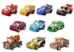 Disney Cars Pixar Cars 10 Pack #2 Vehículos, Multicolor