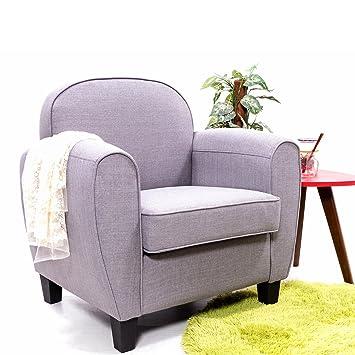 Amazon De Panana Moderne Stoff Sessel Leinen Sofa Sessel Esszimmer