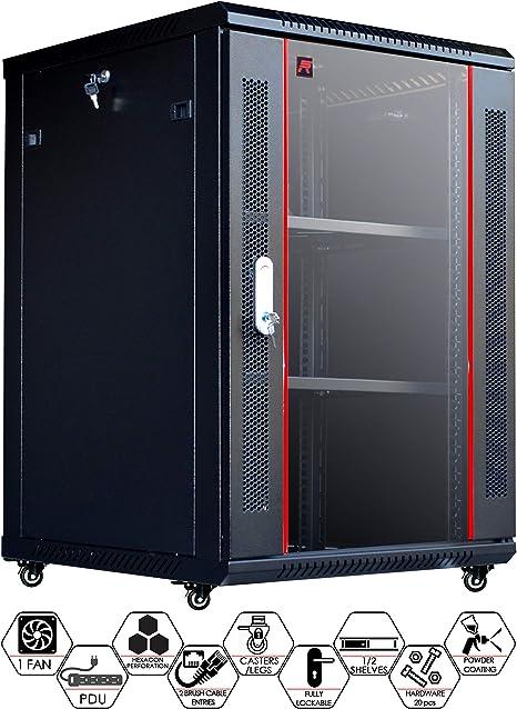 Amazon Com Sysracks 18u 24 Inch Deep Wall Mount Server Rack