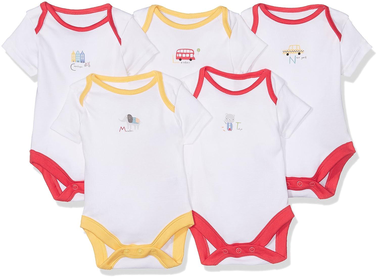 Mothercare T-Shirt Unisex-Bimbi Multicoloured 6 mesi MC099