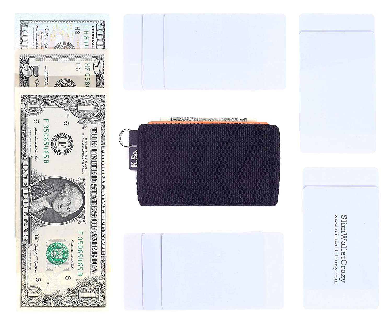 Amazon.com: Monedero minimalista pequeño para tarjetas ...