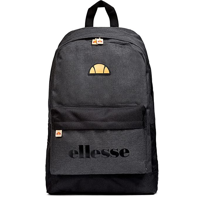 Ellesse Regent II Backpack Rucksack School College Sports Bag - Black  Marl Gold  Amazon.ca  Clothing   Accessories 3a1b0e2690