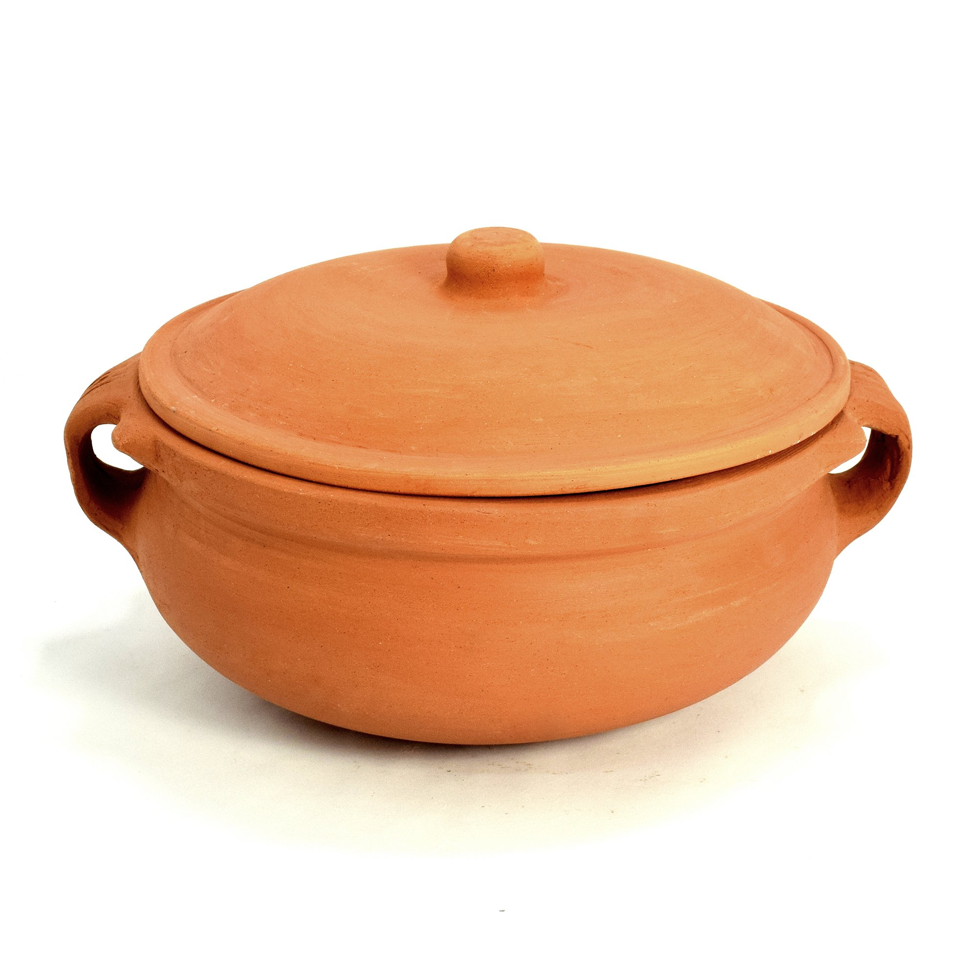 Ancient Cookware Clay Curry Pot, Medium, 8 Inch by Ancient Cookware