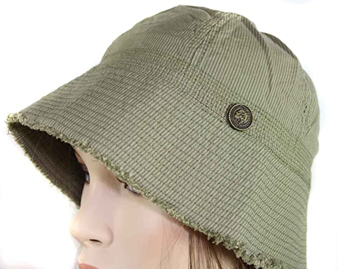 8903bbb02de Diesel Bois Berretto Fishing Hat (Khaki