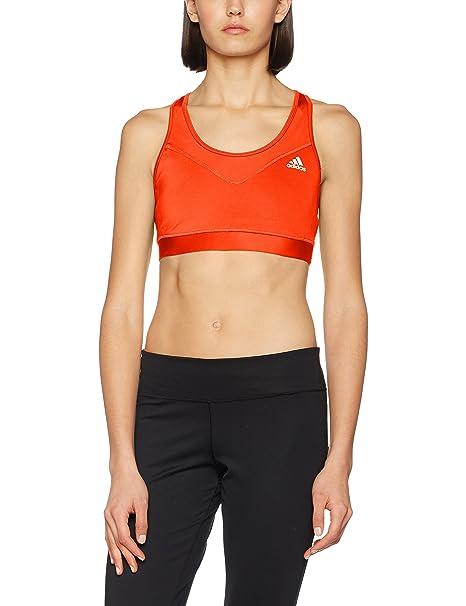 adidas TF Bra-Solid Sujetador Deportivo, Mujer: Amazon.es: Ropa y ...