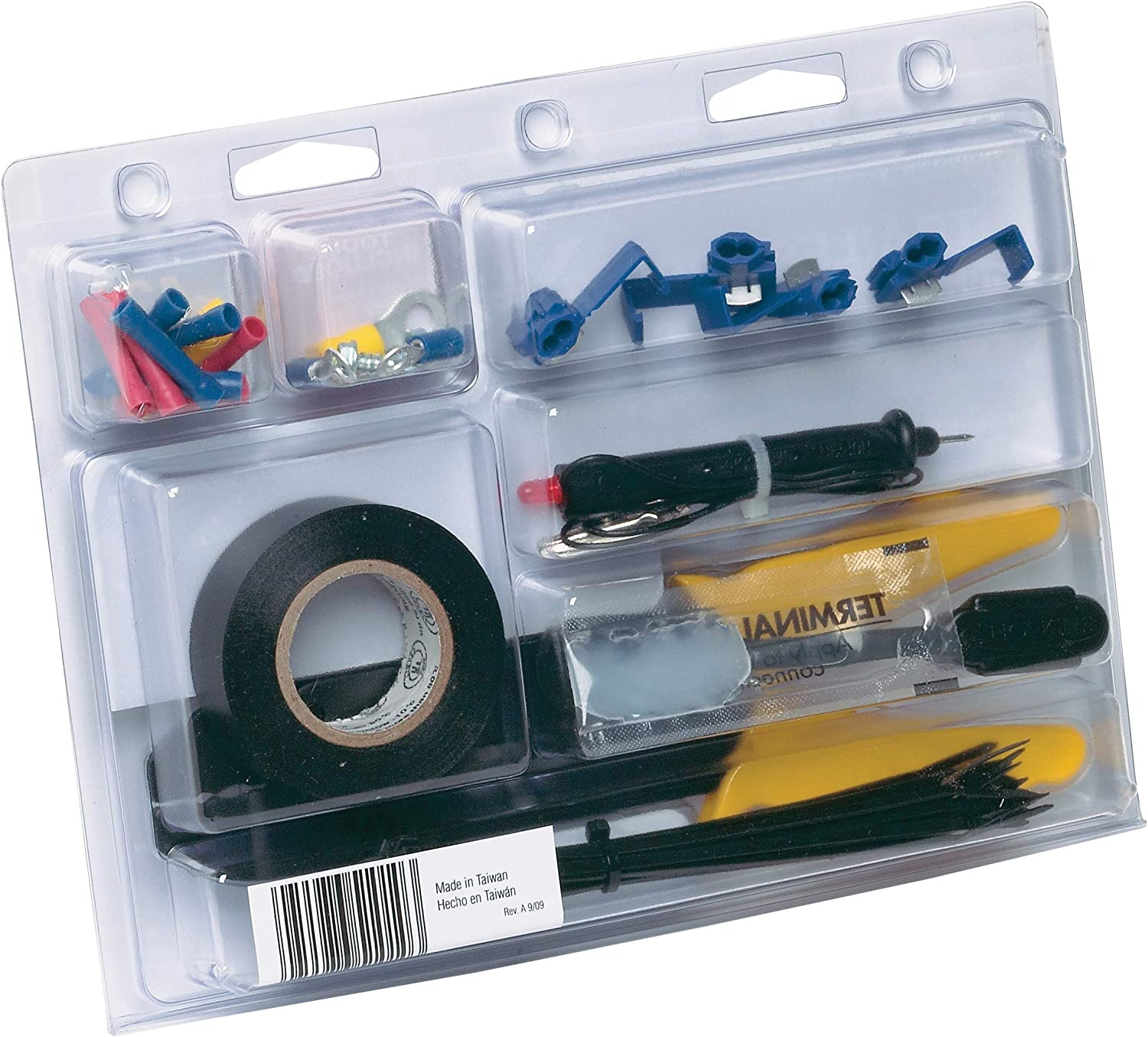 43 Piece Hopkins 51010 Trailer Wiring Kit with Wire Tool