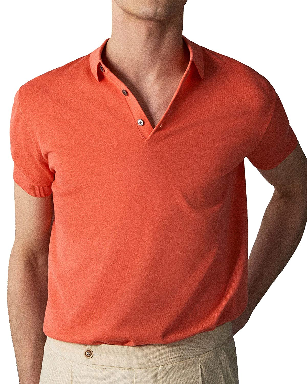 MASSIMO DUTTI 0917/445 - Suéter de algodón para Hombre - Rojo - XX ...