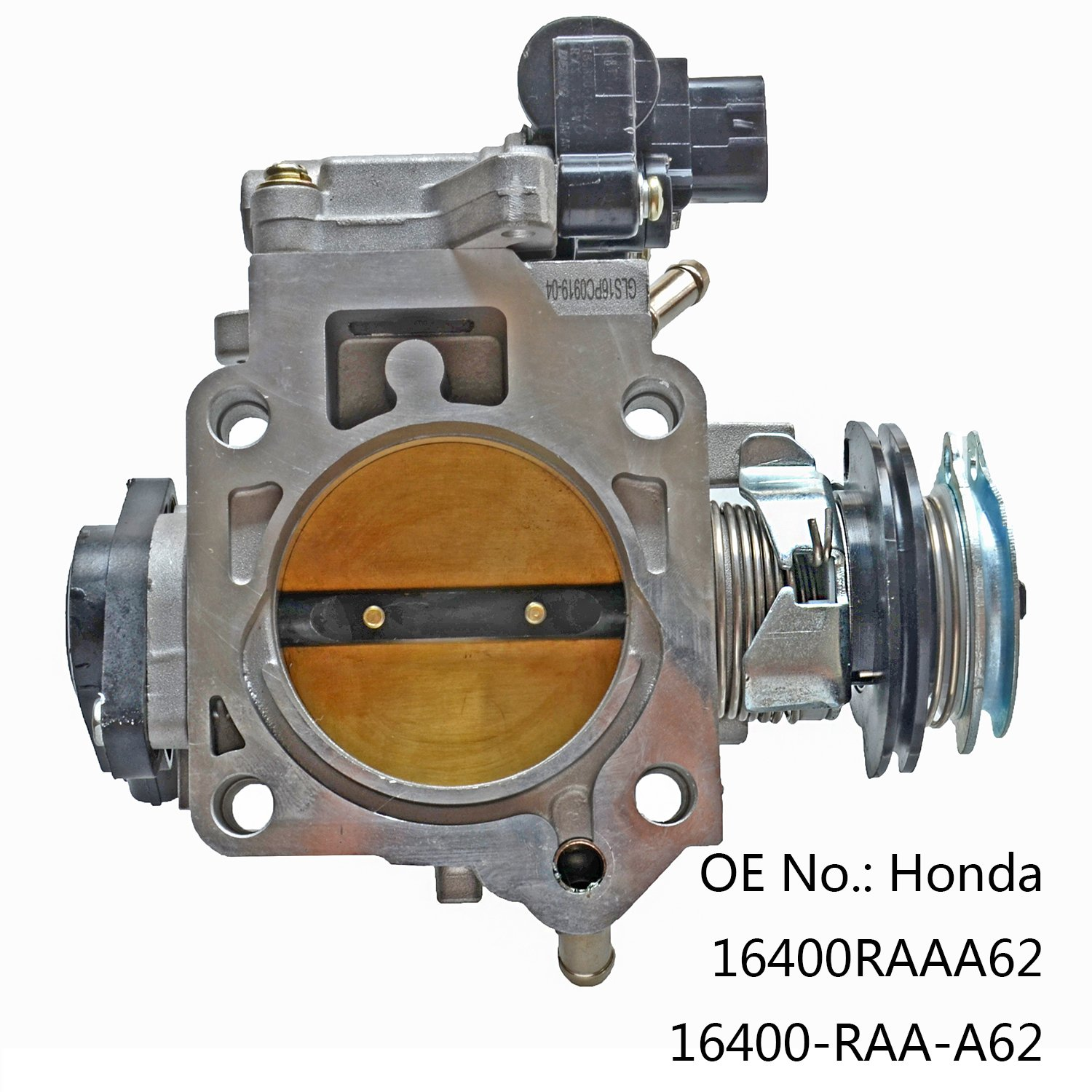Throttle Body Fit For 2003-2005 Honda Accord DX LX EX 2.4L 16400-RAA-A62 16400RAAA62 GELUOXI