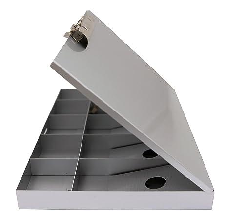 Saunders Aluminum Cash Box Aluminum Clipboard (55100)