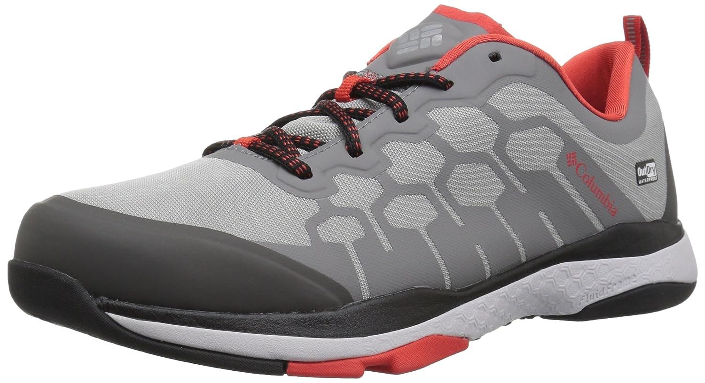 Columbia Men's ATS Fs38 Outdry Trail Running Shoe B073WG19SB 14 D(M) US Steam, Fiery Red