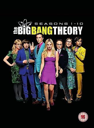 The Big Bang Theory Seasons 1 10 Dvd 2017 Amazon Co Uk Johnny
